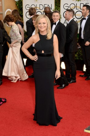 Amy+Poehler+Dresses+Skirts+Cutout+Dress+pZgNlGEqiF3l
