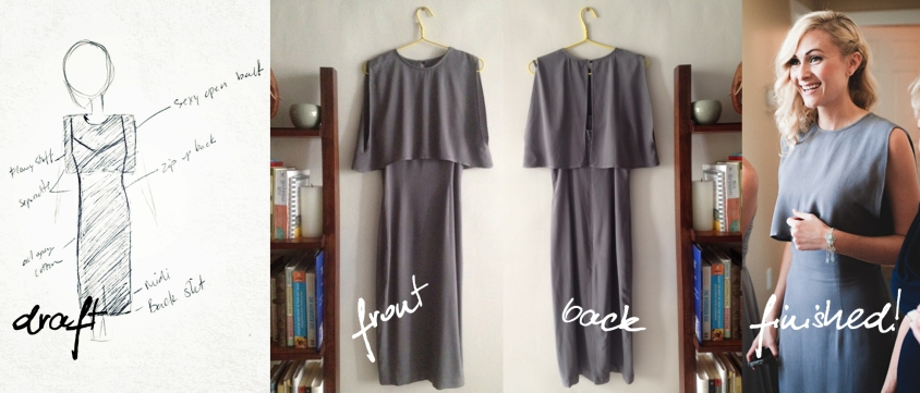 grey dress progression
