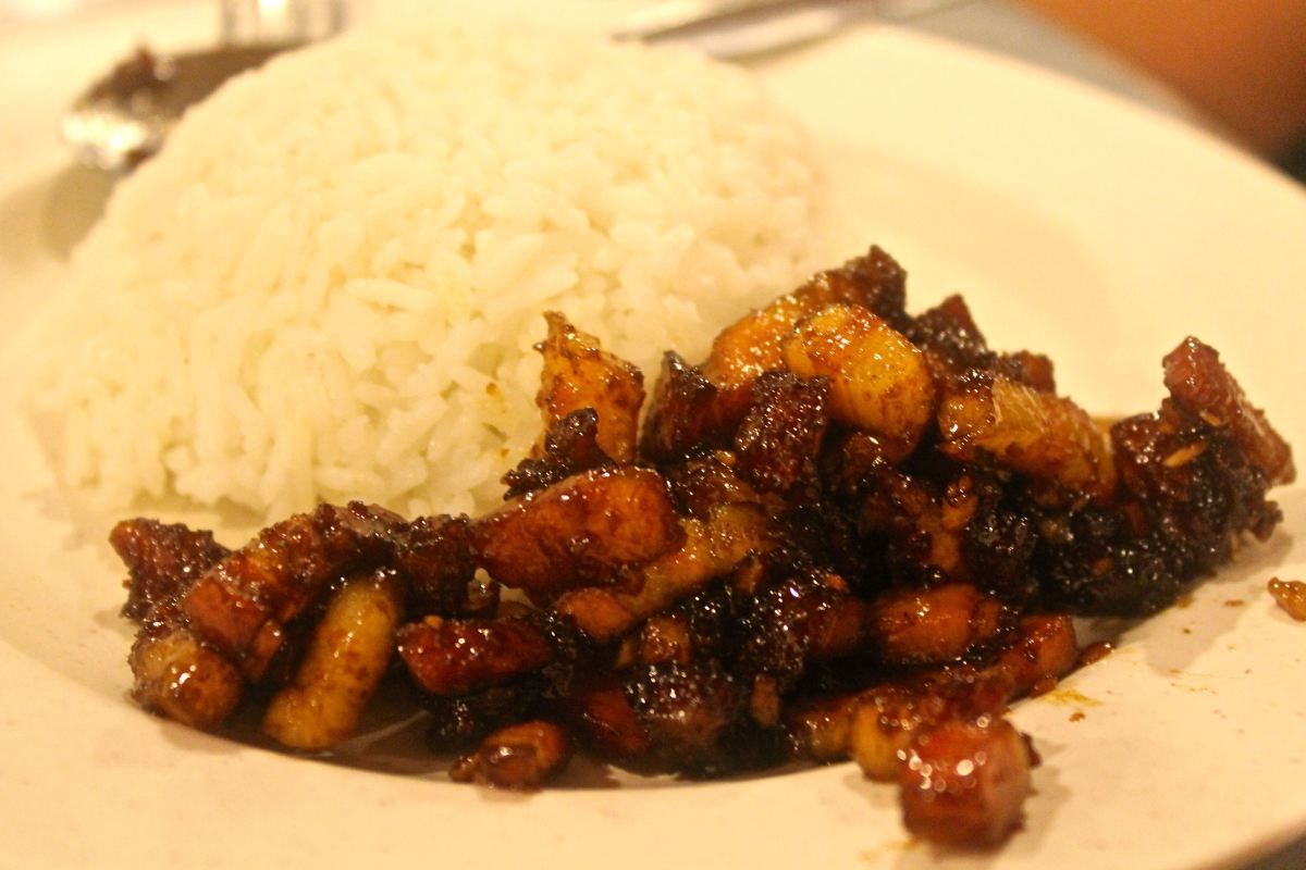 Pretty much the best pork and rice this side of Asia.