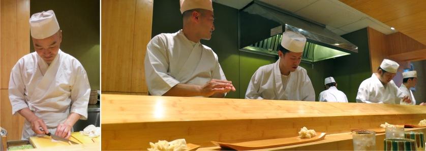 Master skills at Sushi Yasuda