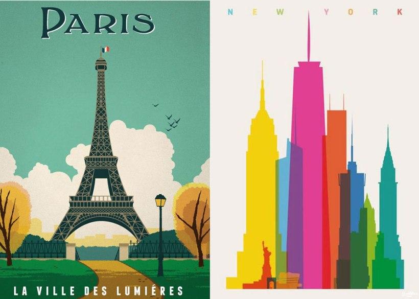 Image Credit: Paris, New York