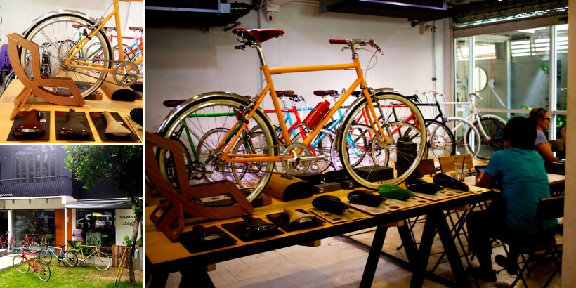 Spend the afternoon admiring quality cycles at tokyobike