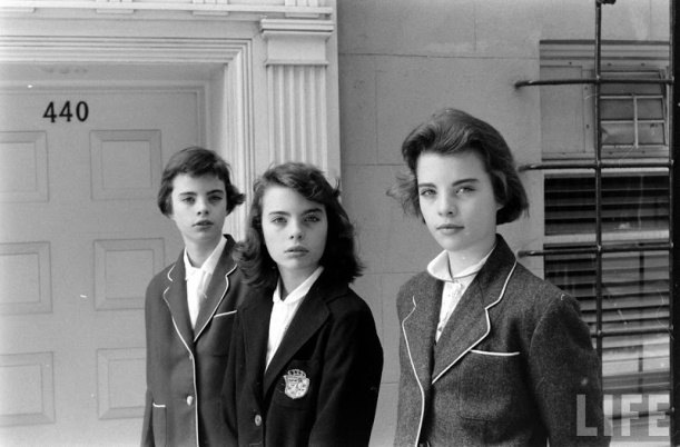 Photo Credit: Nina Leen for LIFE, 1956. Via Tomboy Style