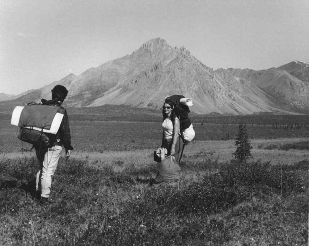 Hiking_in_tundra_vintage_photo