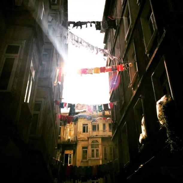 Laundry Sky Photo