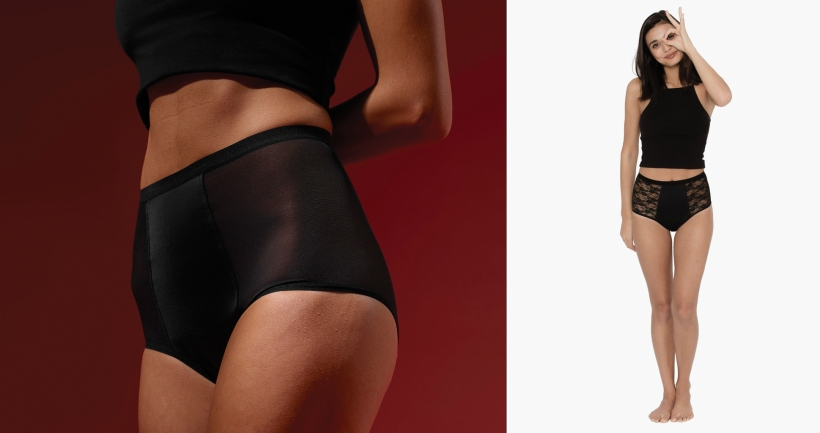 Hi-Waist by THINX (here and here)